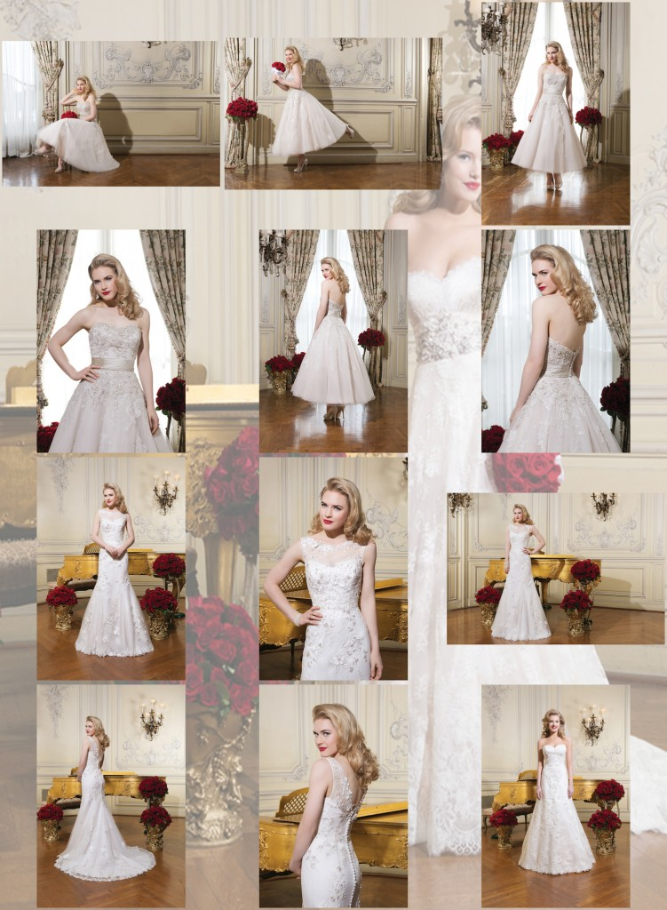 Designer wedding gowns Swindon by Justin Alexander