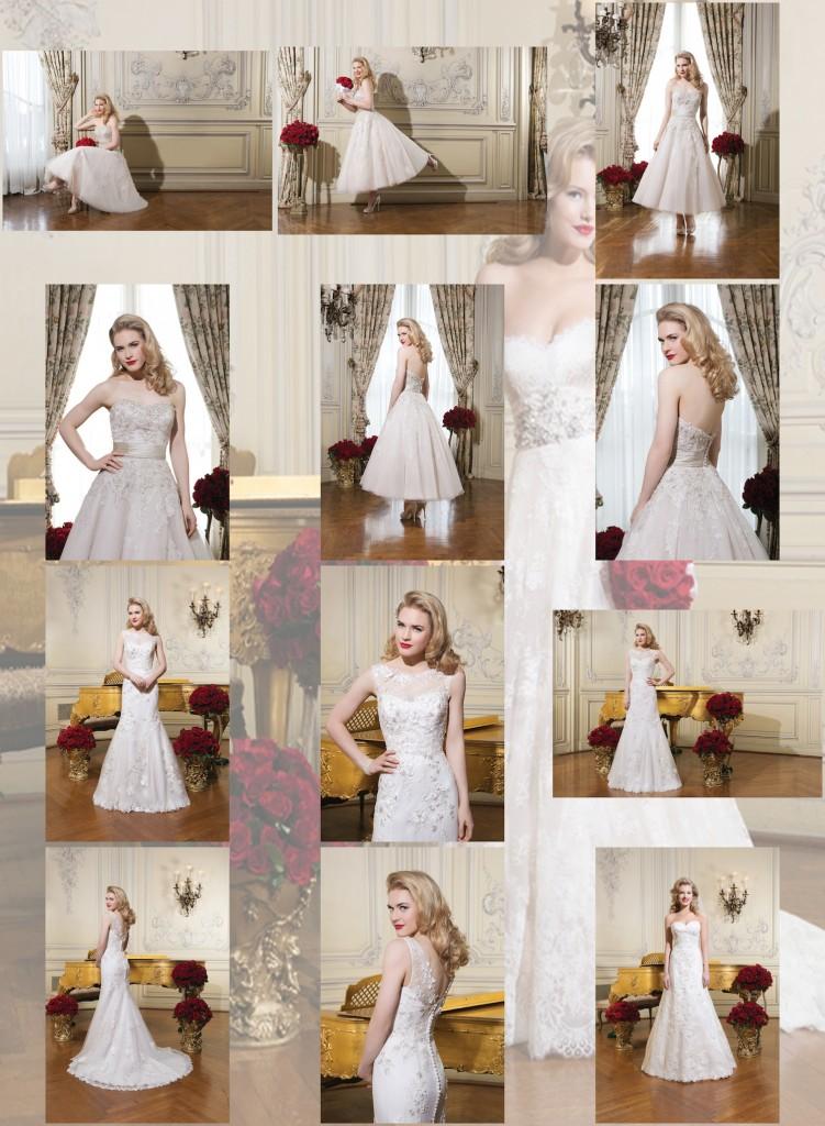 Designer wedding gowns Swindon by Justin Alexander